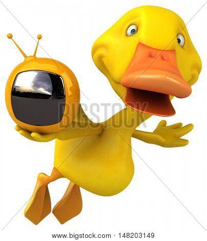 Duck - 3D Illustration