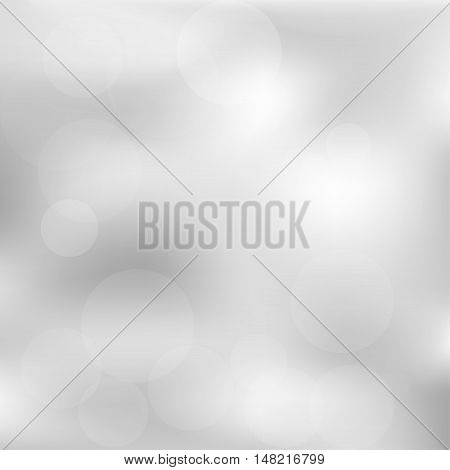 Gray gradient abstract background vector christmas grey soft foil paper light frame blurred mesh texture for presentations and prints