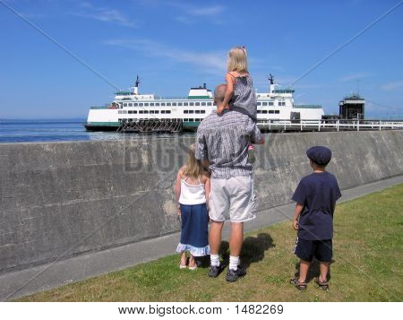 Watching The Ferry