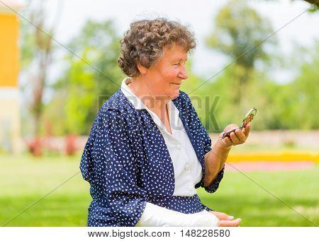 Trandy Grandmother