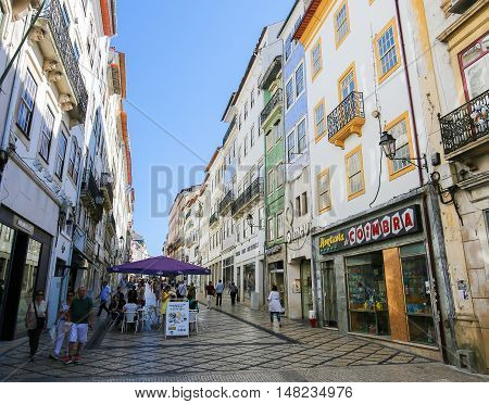 Historic Center Of Coimbra, Portugal