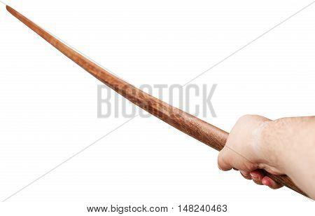 Arm With Bokken - Japanese Wooden Sword