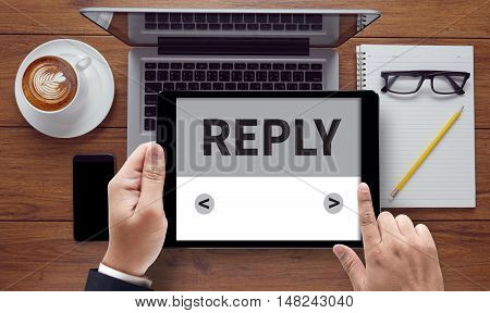 Reply ( Feedback Answers Information Questions  )