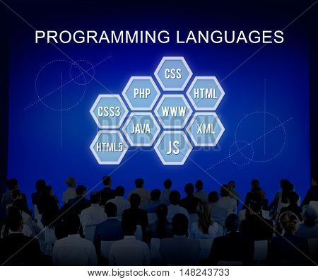 Programming Language Coding Developer Software Concept