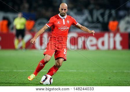 Uefa Europa League Match Between Paok Vs Acf Fiorentina