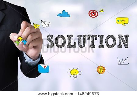 Solution ( Solution Innovation Progress Strategy Decision )