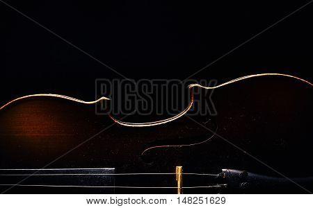 Half Of A Violin