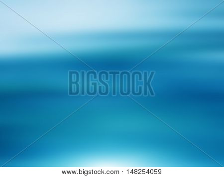 Abstract sea background in motion blur holiday card