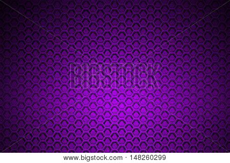 purple chrome metallic mesh. metal background and texture. 3d illustration.