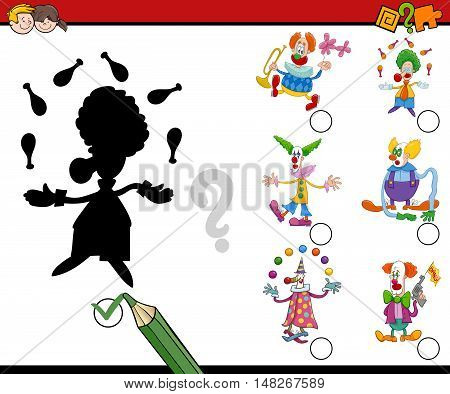 Shadows Activity With Clowns