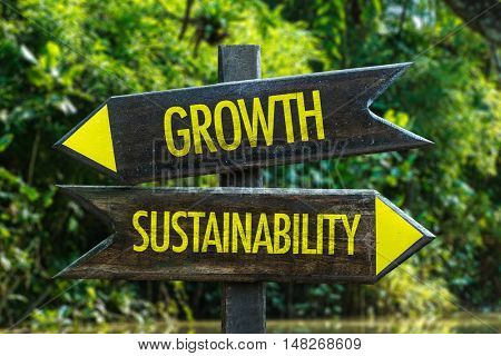 Growth vs Sustainability
