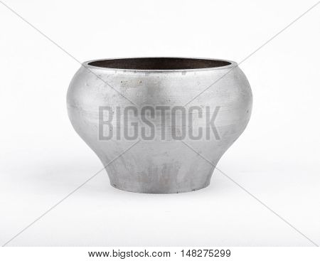 Cast iron pot for boiling in the Russian oven