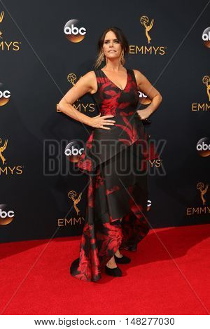 LOS ANGELES - SEP 18:  Amy Landecker at the 2016 Primetime Emmy Awards - Arrivals at the Microsoft Theater on September 18, 2016 in Los Angeles, CA
