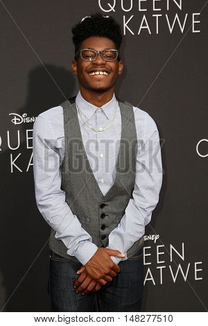 LOS ANGELES - SEP 20:  Kamil McFadden at the
