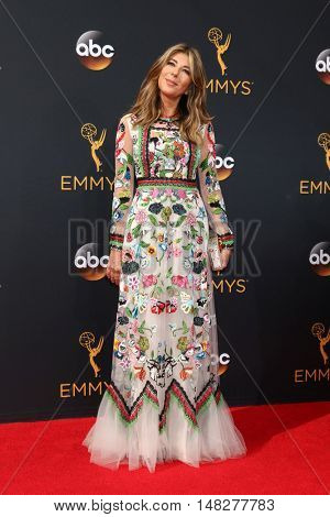 LOS ANGELES - SEP 18:  Nina Garcia at the 2016 Primetime Emmy Awards - Arrivals at the Microsoft Theater on September 18, 2016 in Los Angeles, CA