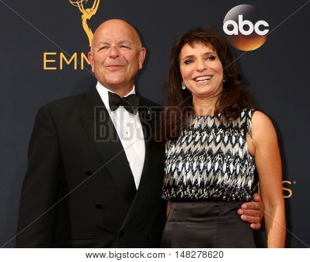 LOS ANGELES - SEP 18:  Guest, Susanne Biers at the 2016 Primetime Emmy Awards - Arrivals at the Microsoft Theater on September 18, 2016 in Los Angeles, CA
