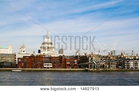 View Of St Paul's Cathedral , London