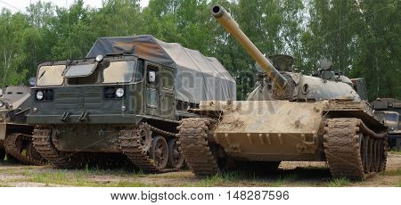 Army tank historic tracked vehicles military theme.