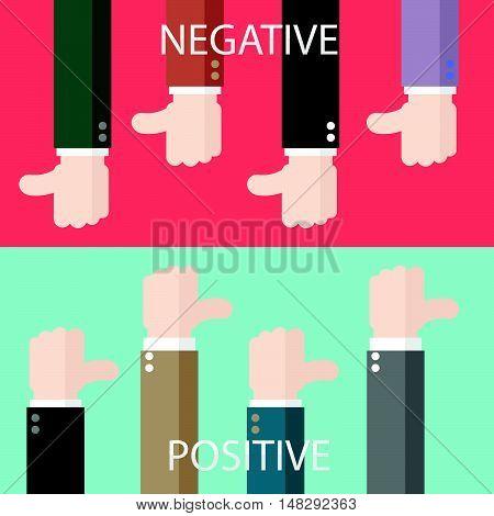 Negative And Positive Feedback Horizon