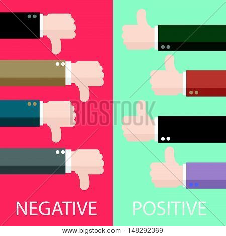 Negative And Positive Feedback In Vertical