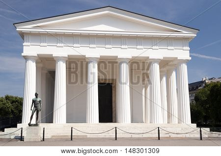 Vienna / Austria - July 20th 2014: Theseus Temple in Volksgarten