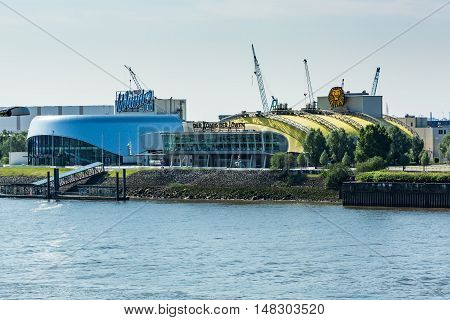 View Of The Stage Theater And The Elbe River