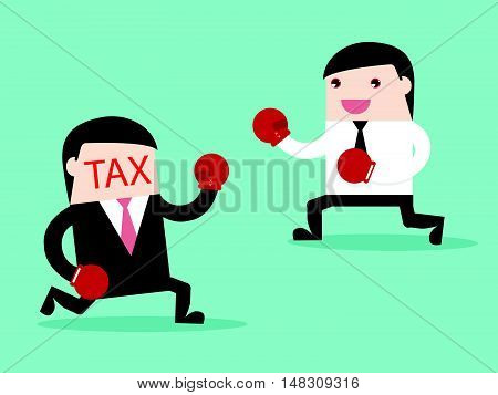 Tax Vs Businessman