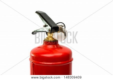 fire extinguisher equipment on a white background