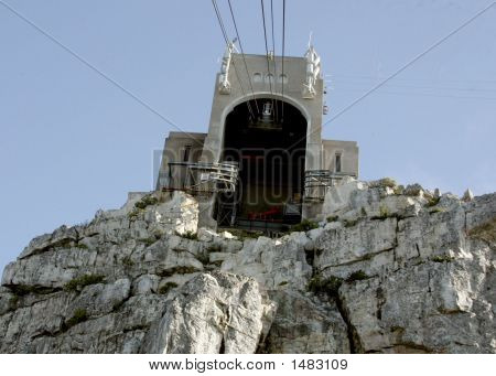 Cable Car Exit Top Table Mountain