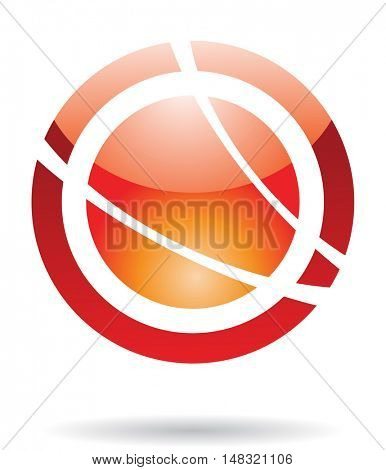 Abstract icon and design element