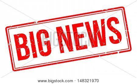 Big News Rubber Stamp