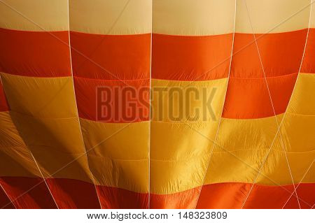 Yellow and orange balloon background lines and texture