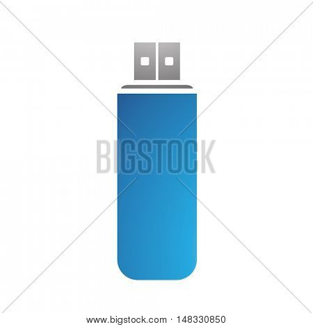 Illustration of PC Accessories Usb Stick isolated on a white background