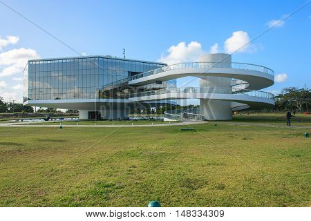 Cabo Branco Station - Science, Culture And Arts. It Was Designed By Brazilian Architect Oscar Niemey