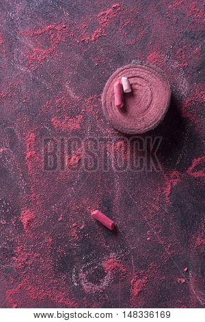 Red Chalk Dust