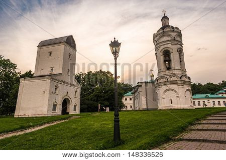 Russian orthodox church in Kolomenskoye in Moscow, Russia