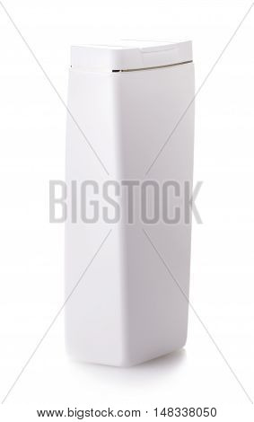 Gel Foam Liquid Soap or any cosmetics white Plastic Bottle isolated over white background