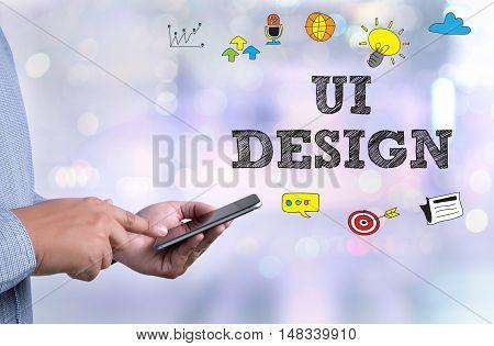 Ui Design Computer Network Homepage Html Graphic Web