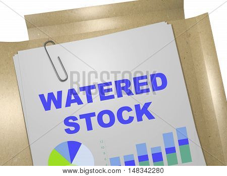 Watered Stock Concept
