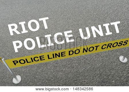 Riot Police Unit Concept