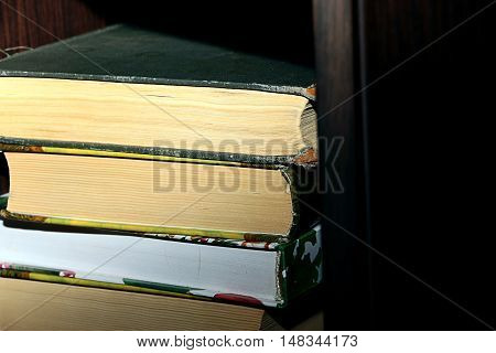 cover and pages of the old book