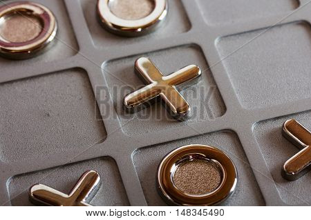 Metal Tic Tac Toe Board