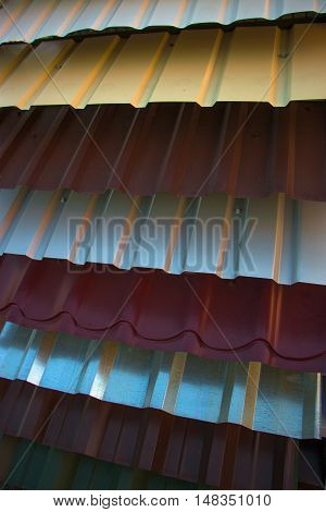 Corrugated Metal Roof,  Profiled Sheeting