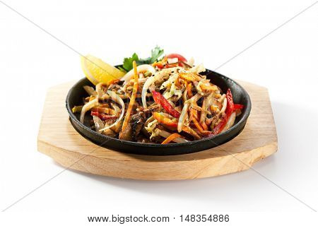 Asian Style Vegetable Stir-Fry