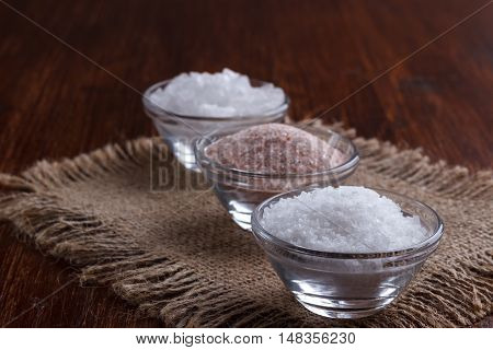 White And Pink Salt