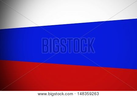 Russia flag ,original and simple Russia flag