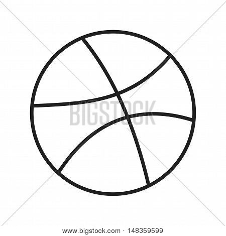 Graphic, dribble icon vector image.