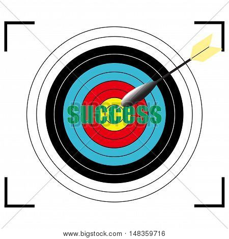 success word Vector EPS 10, business concept.
