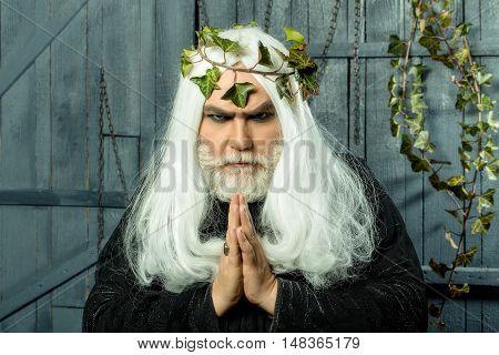 Zeus Man With Vine