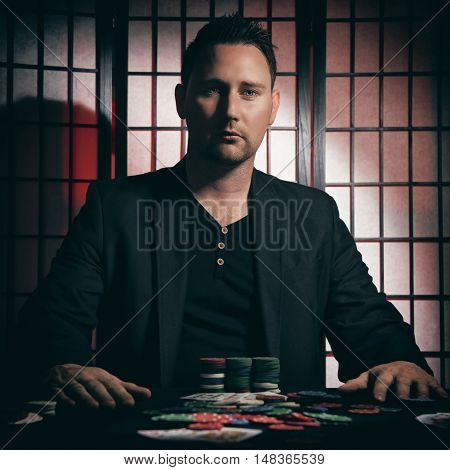 Arrogant High Stakes Poker Player